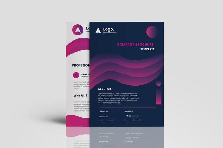 Clean Gradient Multipurpose Brochure