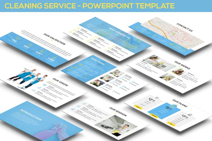 Cleaning Service - Powerpoint Template