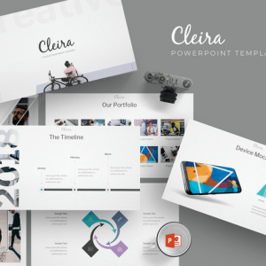 Cleira - Powerpoint Templates