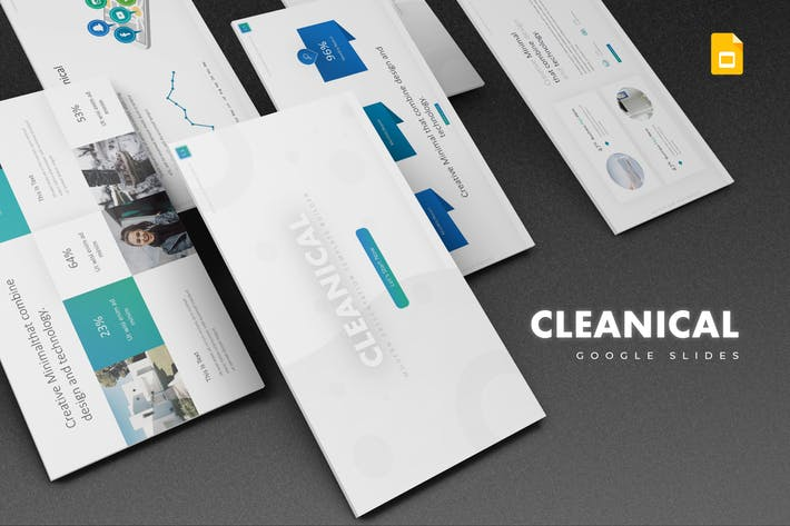 Cleanical Google Slides Template