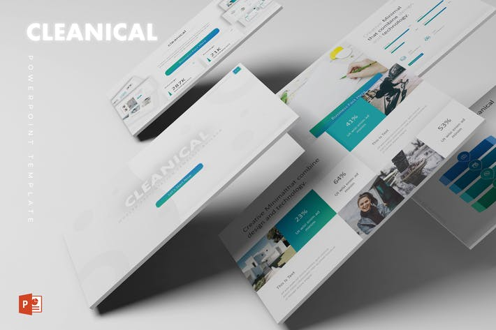 Cleanical Powerpoint Template