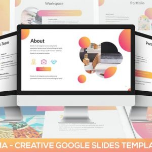 Clorama - Creative Google Slides Template