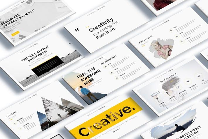 Cocoon - Creative Google Slide Template