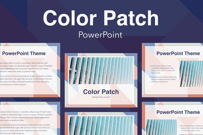 Color Patch PowerPoint Template