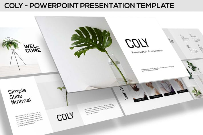 Coly - Powerpoint Template