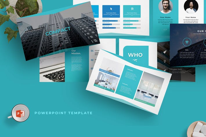 Compact - Powerpoint Template