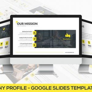 Company Profile - Google Slides Template