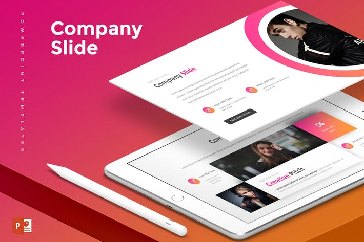 Company Slide - Powerpoint Template