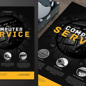 Computer Service Flyer