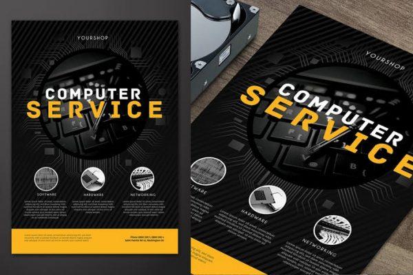 Computer Service Flyer