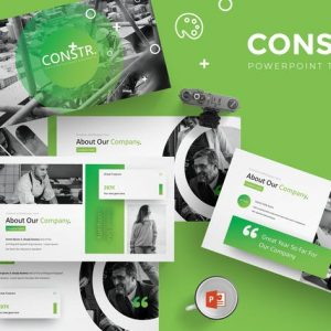 Constr - Powerpoint Template
