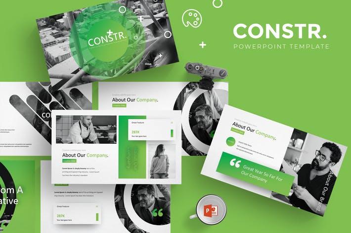 Constr - Powerpoint Template