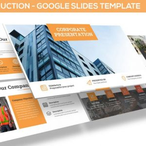 Construction Google Slides Template