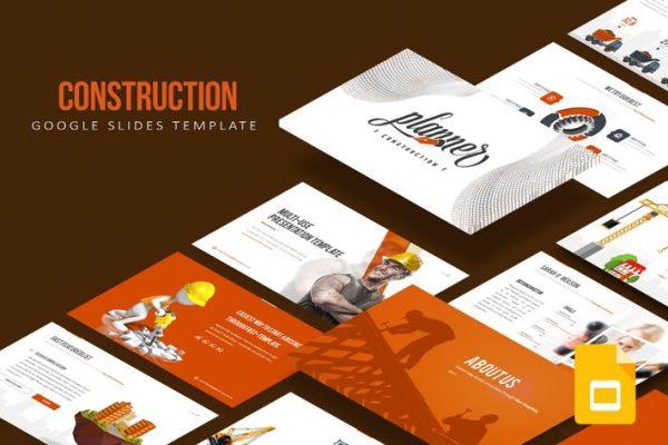 Construction Google Slides Template