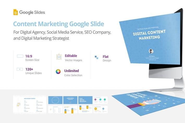 Content Marketing - Google Slide Presentation