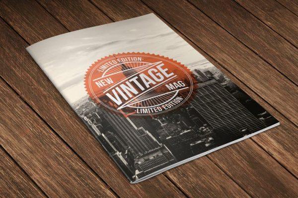 Cool Retro Vintage Magazine