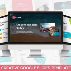 Corak - Creative Google Slides Template