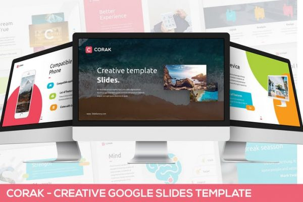 Corak - Creative Google Slides Template