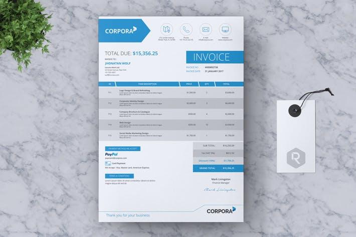 CORPORA - Clean Business Invoice