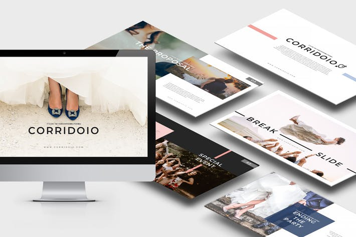 Corridoio : Wedding Organizer Powerpoint Template