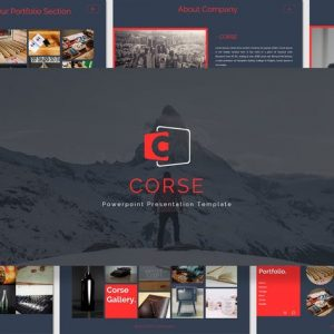 Corse - Powerpoint Template