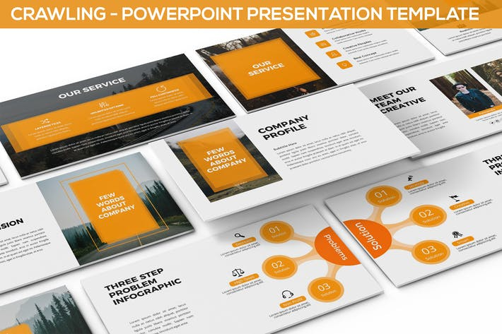 Crawling - Powerpoint Template
