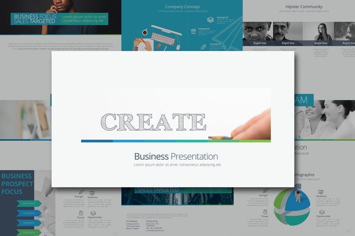 CREATE Google Slides