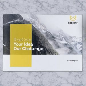 Creative Brochure Template A5 Vol. 35