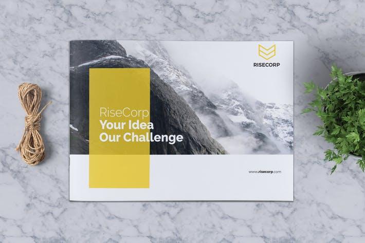 Creative Brochure Template A5 Vol. 35