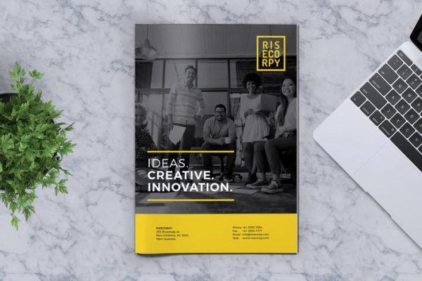 Creative Brochure Template Vol. 40