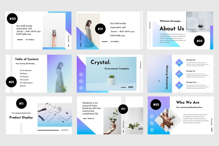 Crystal Powerpoint Presentation