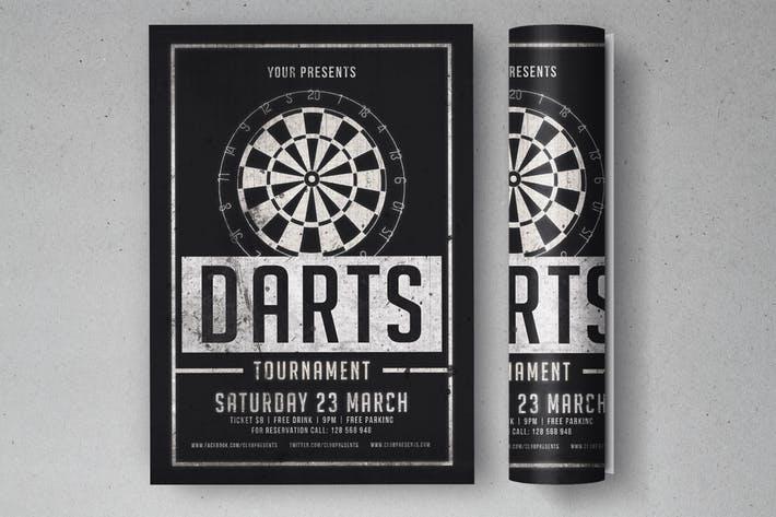 Darts Tournament Flyer