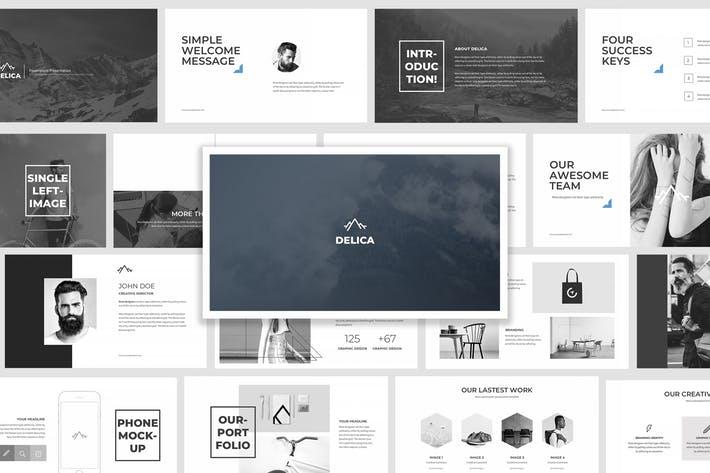 Delica Google Slides Presentation