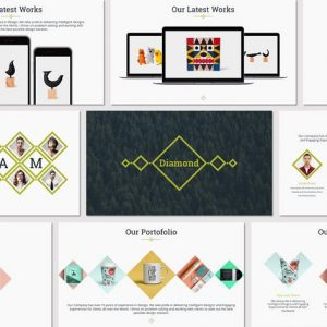 Diamond - Google Slides Template