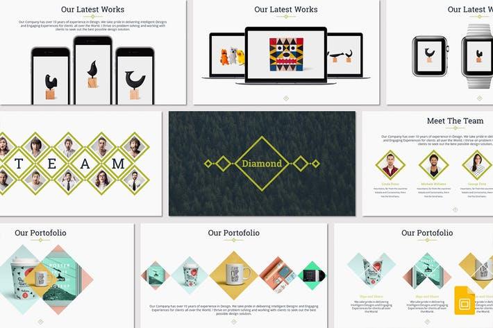 Diamond - Google Slides Template