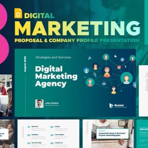 Digital Marketing Agency Google Slide