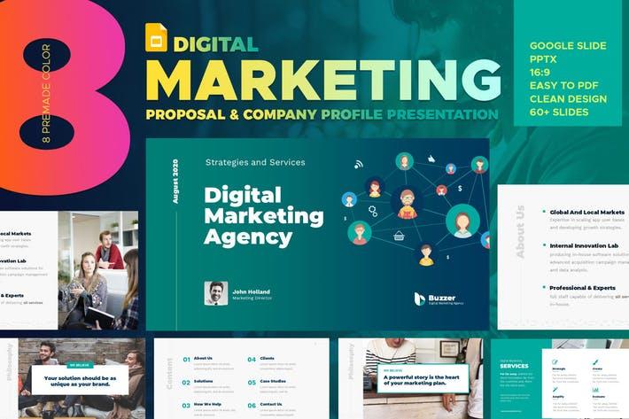Digital Marketing Agency Google Slide