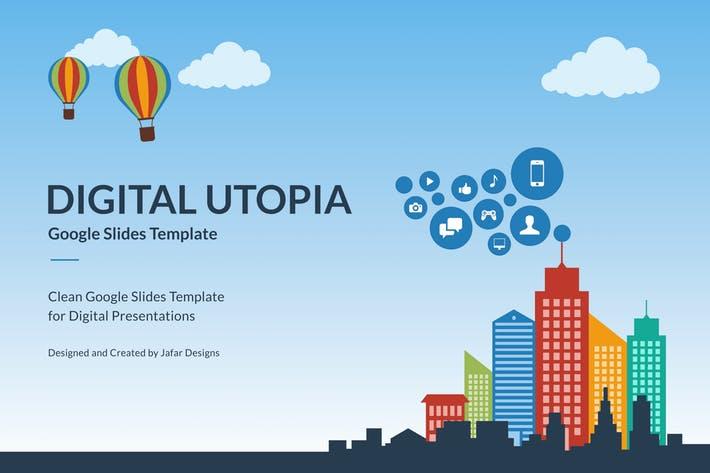 Digital Utopia Google Slides Template