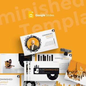 Diminished - Google Slides Template