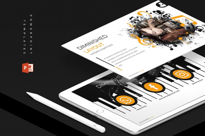 Diminished - Powerpoint Template