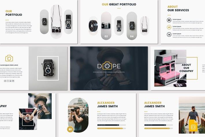 DOPE - Google Slides Template