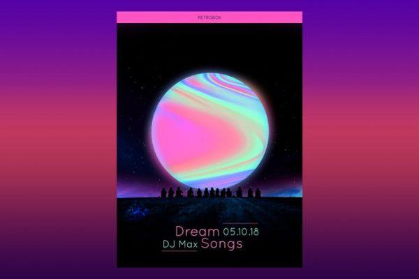 Dream Songs Flyer Poster