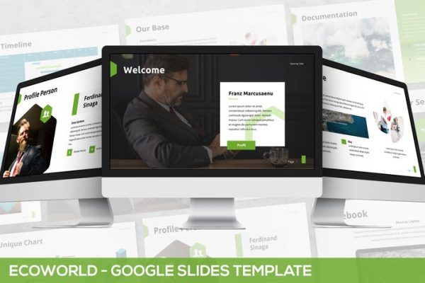Ecoworld - Multipurpose Google Slides Template