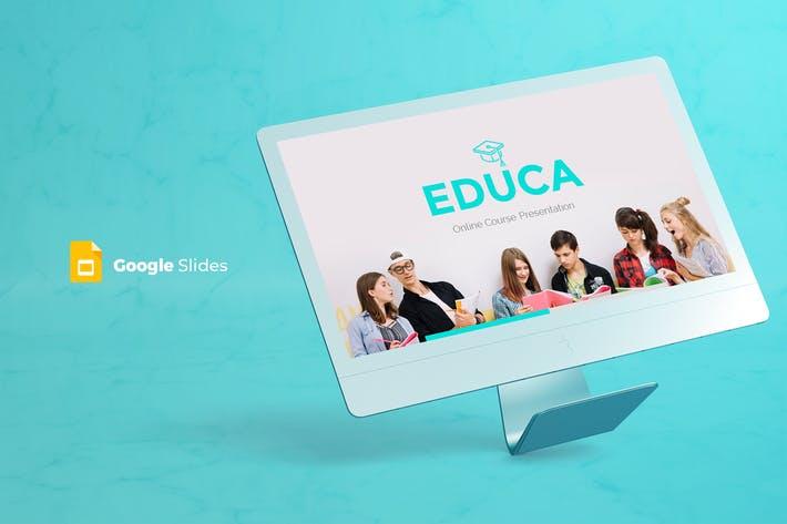 Educa - Google Slides Template