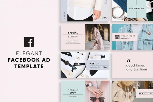 Elegant Facebook Ad Templates