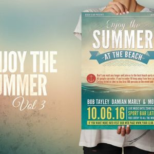 Enjoy the Summer Flyer Poster