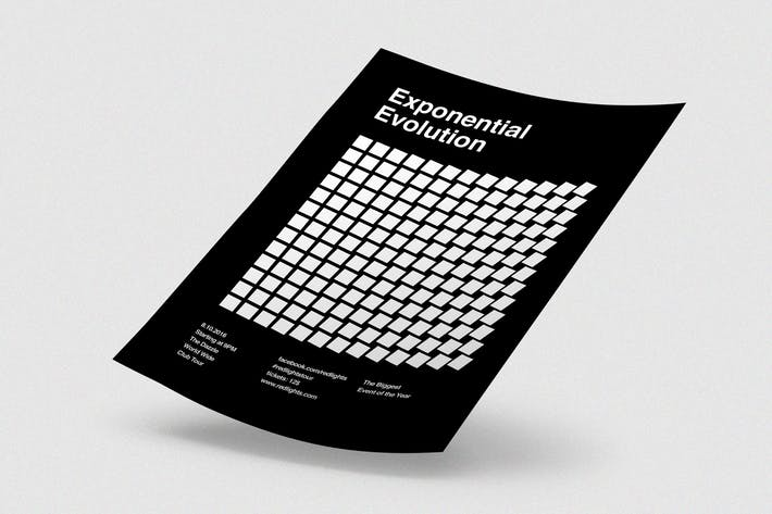 Exponential Evolution Flyer
