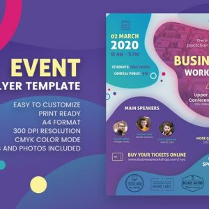Event Conference Flyer