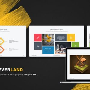 Everland Multipurpose & Creative Google Slide