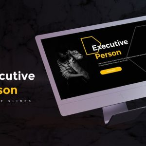 Executive Person - Google Slides Template